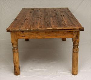 Handmade Antique Farm Table Breznick Woodworking Londonderry Vt