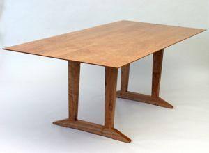 Breznick Cherry Trestle Table