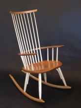 Cod Rib Rocker By Timothy Clark Cabinetmaker Chairwright