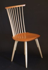 Clark New Waltham Side Chair in Cherry and Ash