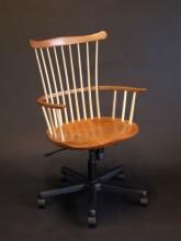 Clark Waltham Desk Chair in Cherry