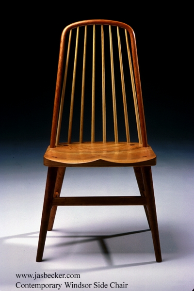 The Bow Back Chair, Also Called Hoop Back Or Balloon Back, Has A Continuous  Back That Connects To The Seat Along With The Spindles.