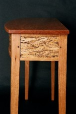 Gasperetti Detail of Spalted Maple Side Table