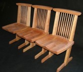Gasperetti Nakashima Inspired Chairs - Yellow Birch