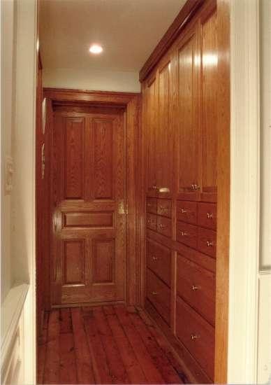 Brownstone Hall Pantry David Boynton Cabinetmaker Llc