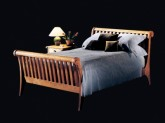 Sleigh Bed by ShackletonThomas.