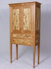 Breznick Spalted Tall Chest