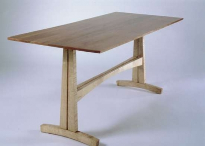 Trestle_Dining_Table__cherry_curley_maple