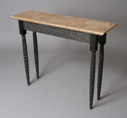 Funky Shaker Hall Table by David Hurwitz, Randolph, Vermont