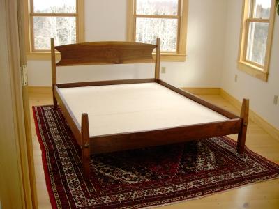 Walnut Bed Hawk Ridge Furniture Paul Donio St