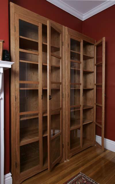 Freestanding Cherry Bookcases Hawk Ridge Furniture