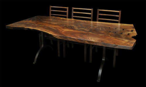 claro slab dining table