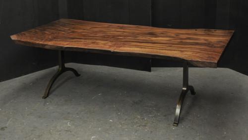 claro walnut dining table 5