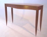hall-table-cherry-curley-maple