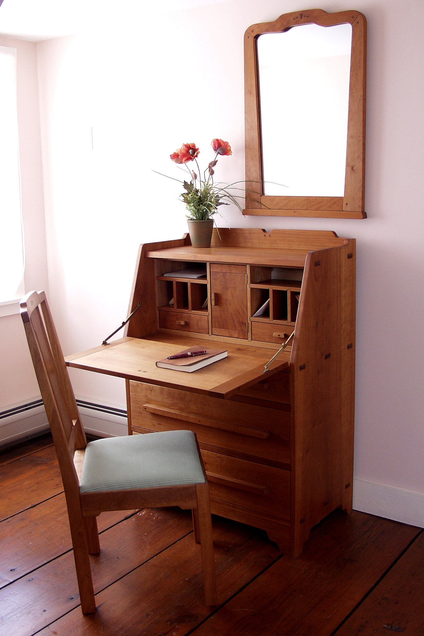Arts and crafts style dining table - Dorset Custom Furniture