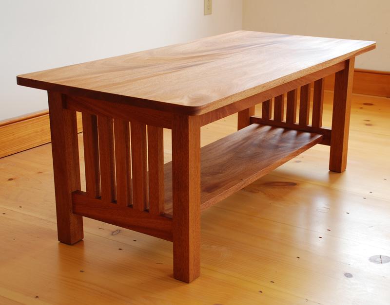 Mission Coffee Table Hawk Ridge Furniture St Johnsbury Vt
