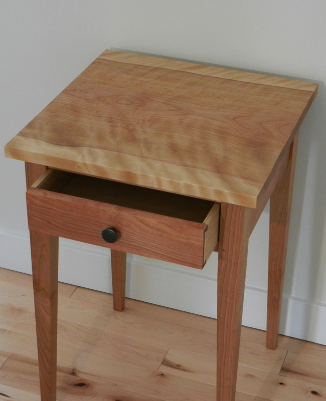 Hardwood Shaker End Table Hawk Ridge Furniture St