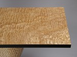 Tamo - Japanese quilted ash table top by David Hurwitz, Randolph, Vermont