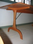Cherry Shaker trestle table