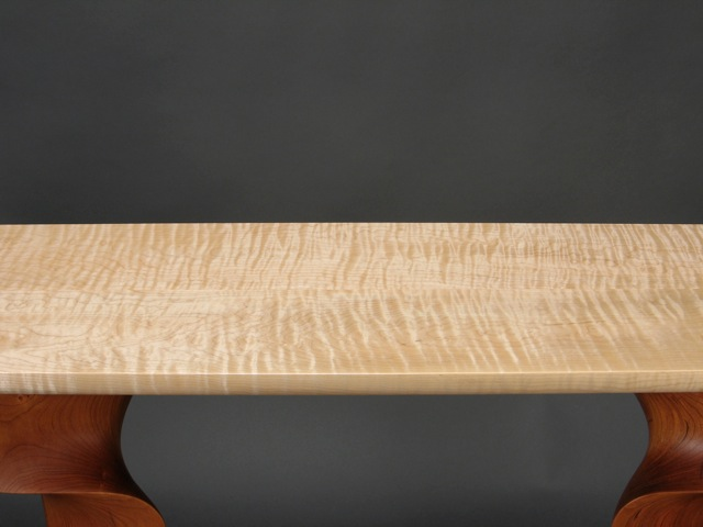 Curly Vermont Sugar Maple Table Top ...