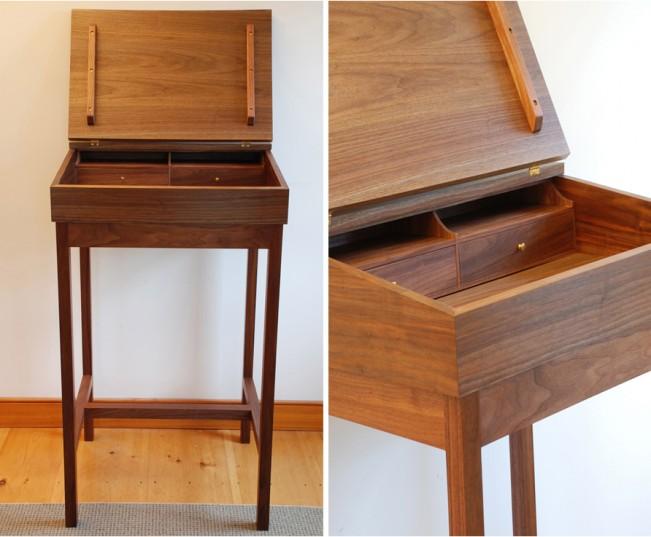 Hawk Ridge Furniture Walnut Desk