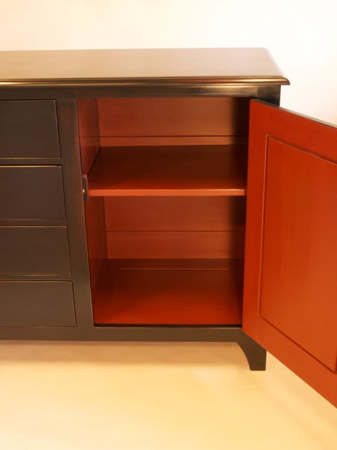 Painted Sideboard Cabinet By Timothy Clark Cabinetmaker