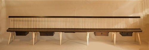 14' Windsor bench by Timothy Clark