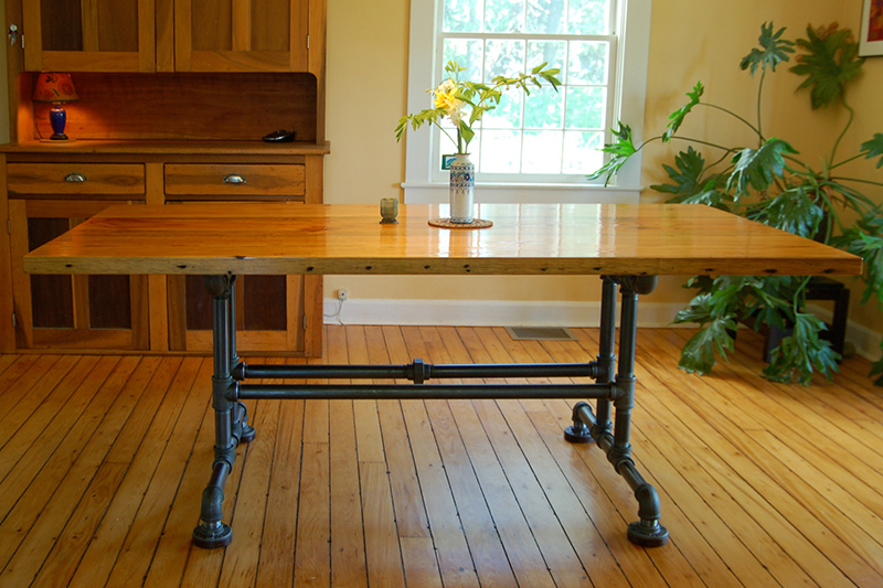 Custom Dining Table By Erin Hanley Fine Furniture Burlington VT