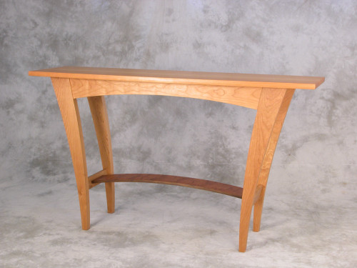 Classic and Contemporary Console from John Lomas Custom Furniture