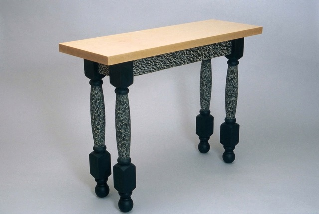 funky hall tables. Poodle Table - One Of A Kind Console In Hand Carved And Painted Pine With Funky Hall Tables E