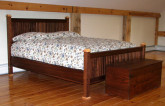 Wainscot Bed