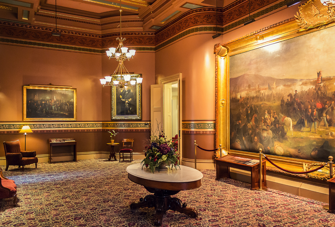 Cedar Room at the Vermont State Capital