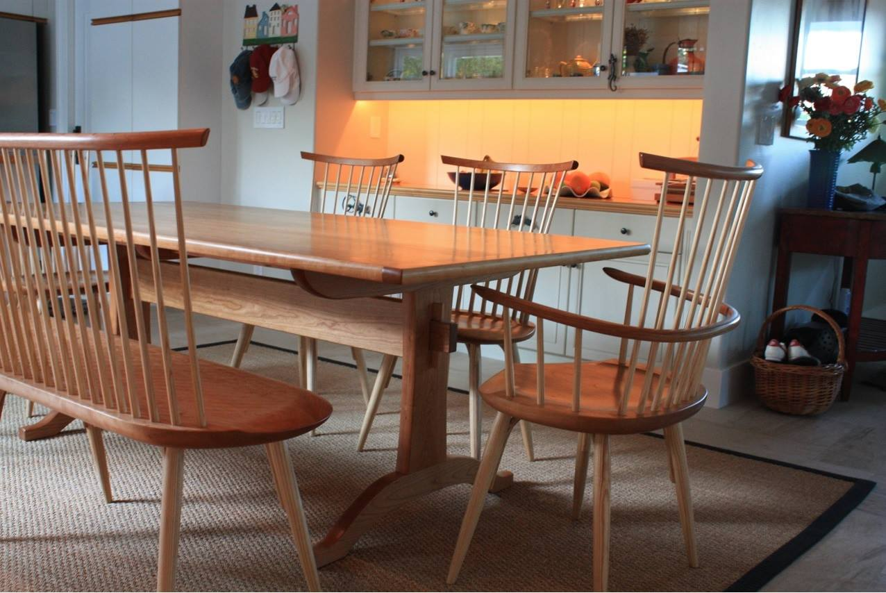 Trestle Table and Waltham Chairs
