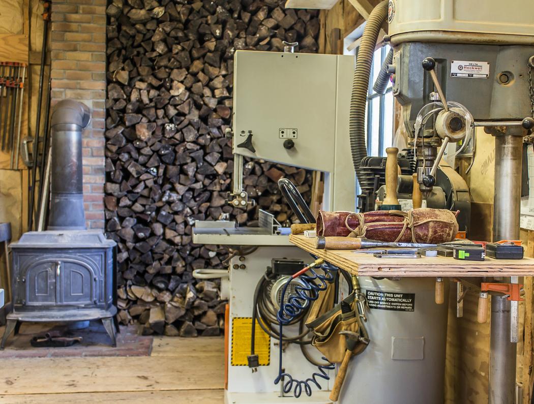 Inside the Wood Shop