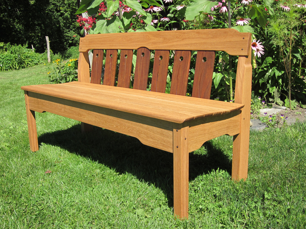 Arts and Crafts English Oak Hall Bench at 1stdibs
