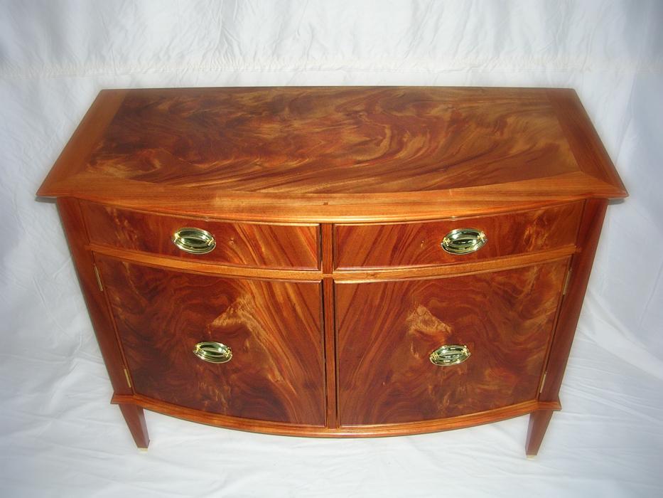 mahogany veneer sideboard 1