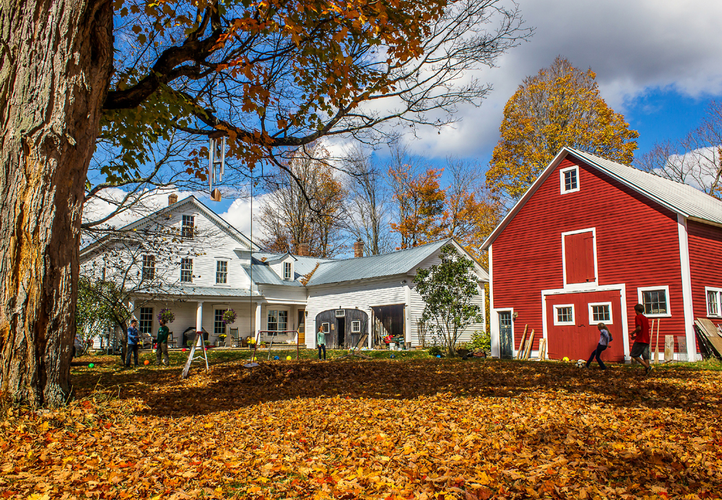 At home in Vermont's Northeast Kingdom