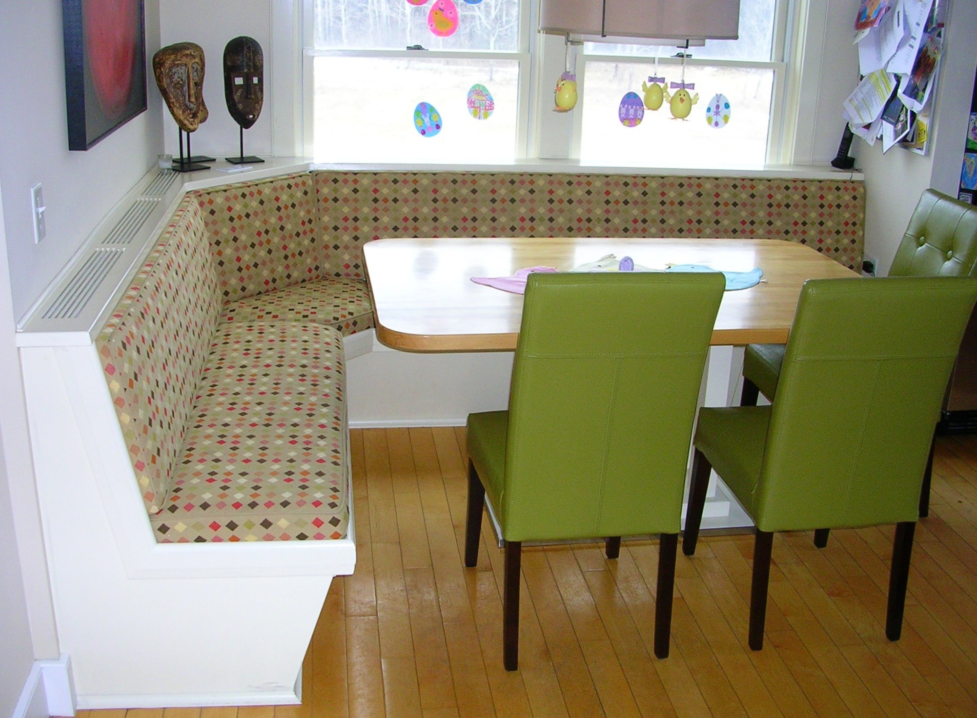 Wonderful Contemporary Built In Banquette From Paul Zenaty