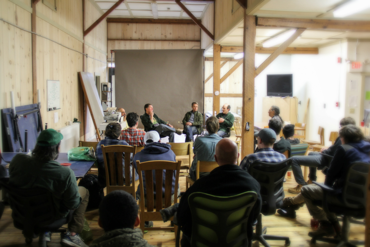 Group Discussion with Vermont Furniture Makers