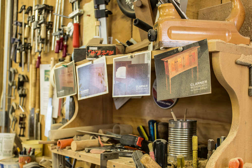 Tour a Woodworkers Studio