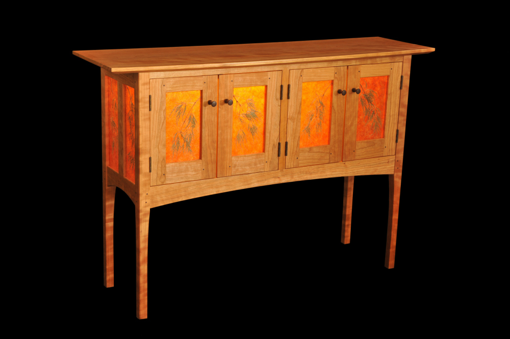 Threadleaf Sideboard from Doug Clarner and Trenny Robb