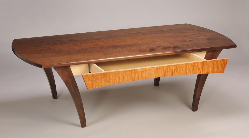 Coffee table walnut for Custom furniture