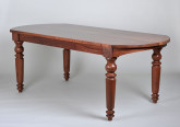 Dining Table with Turned Legs