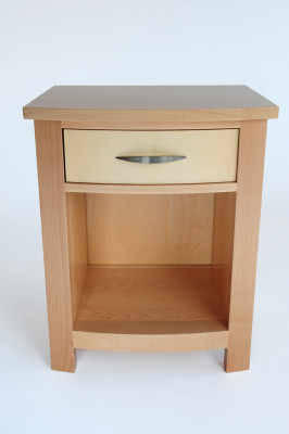 Maple-nightstand