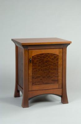 Mahogany-nightstand