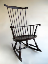 Comb Back Windsor Rocking Chair By Sawyer Made