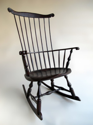 Sawyer Made Windsor Rocking Chair Handcrafted In Vermont