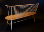 windsor bench in cherry and ash by Timothy Clark