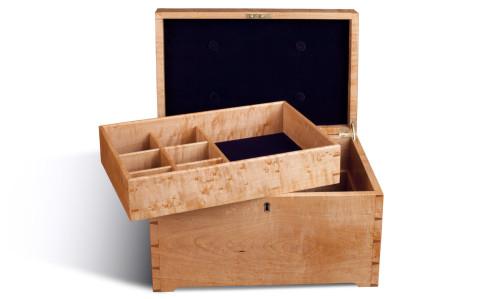 Birdseye Maple Jewelry Box