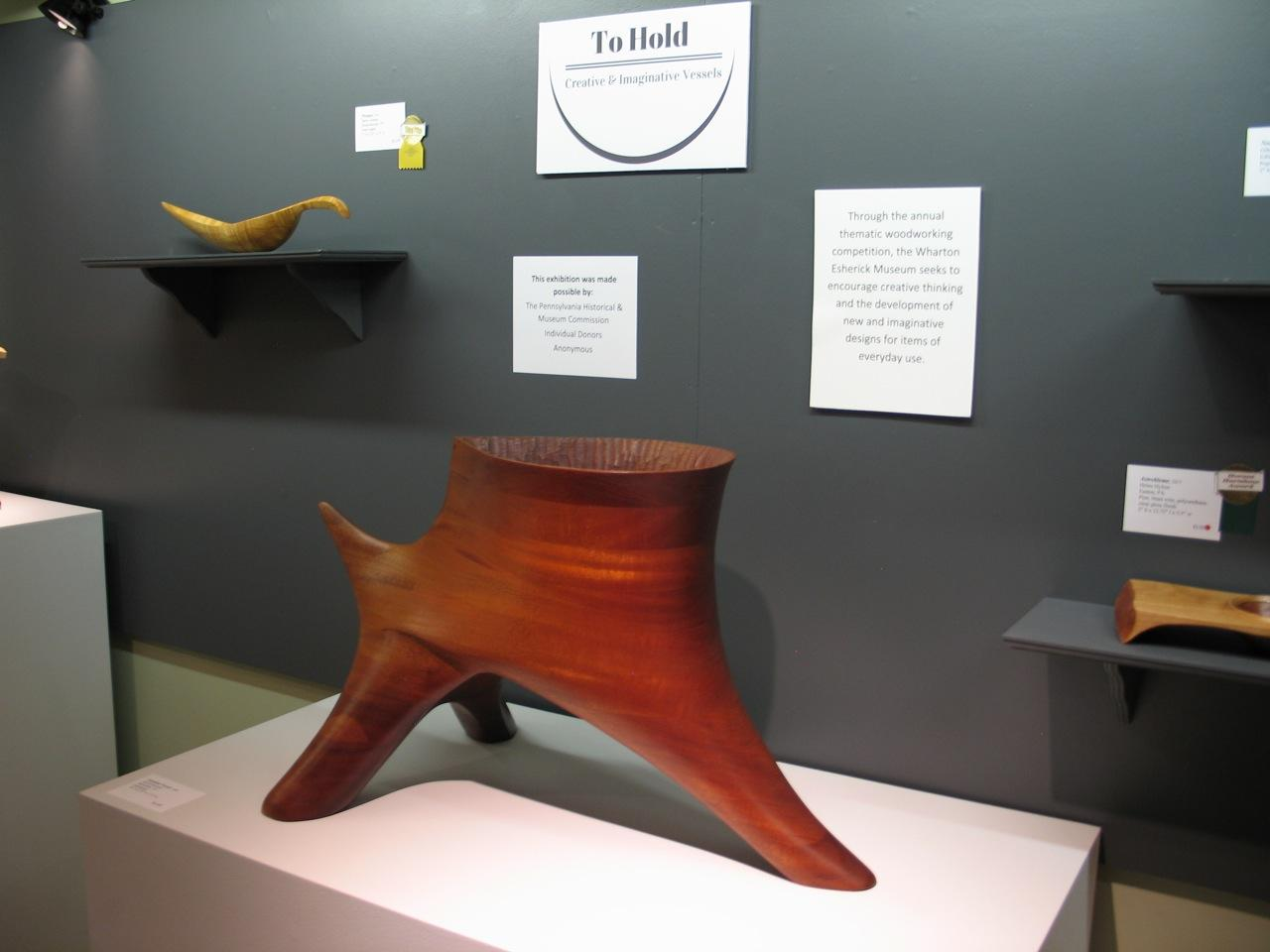 Furniture Maker And Guild Member Dave Hurwitz Has A New Sculpture On  Display At The Wharton Esherick Museum In Malvern, Pennsylvania.